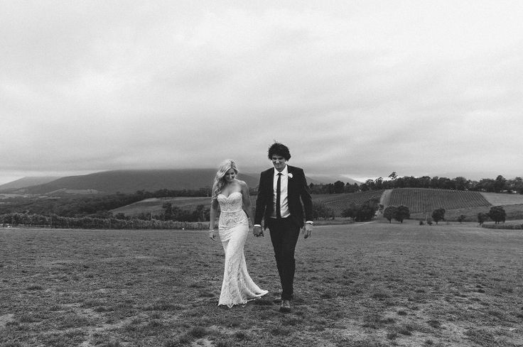 killara estate wedding, yarra valley, peter trends bridal gown, winery wedding