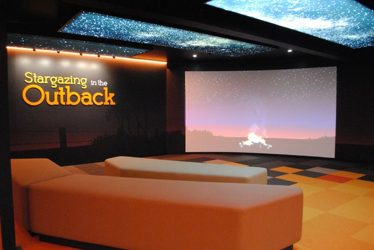 Custom theatre for #CosmosCentre. Design, AV, fabrication and install by #FocusProductionsPtyLtd