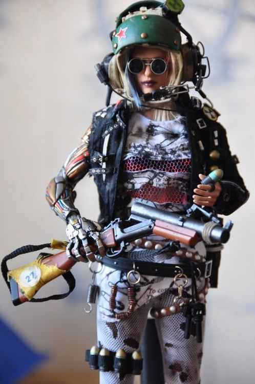 Post apocalyptic doll sheela e steampunk dieselpunk and post apo