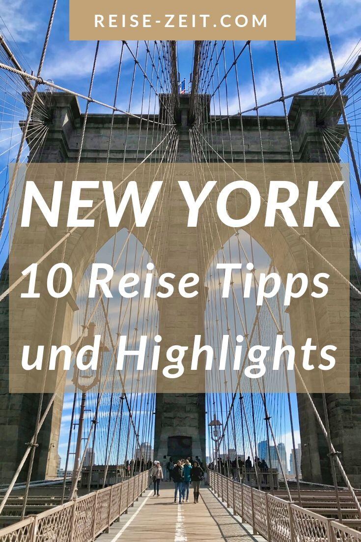 NEW YORK – MEINE TOP 10 HIGHLIGHTS UND TIPPS | Luxus Reiseblog – Reise-Zeit.com