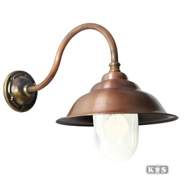 Muurlamp Savoye recht
