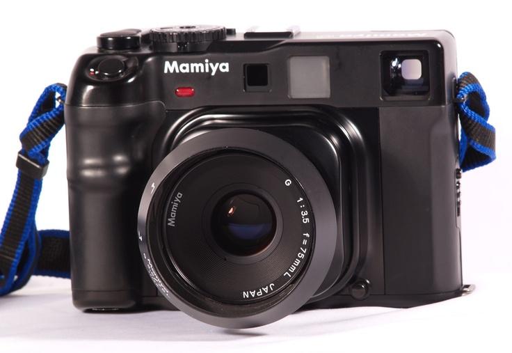 Mamiya 6 Rangefinder Camera w/ 75mm G Lens and Hood