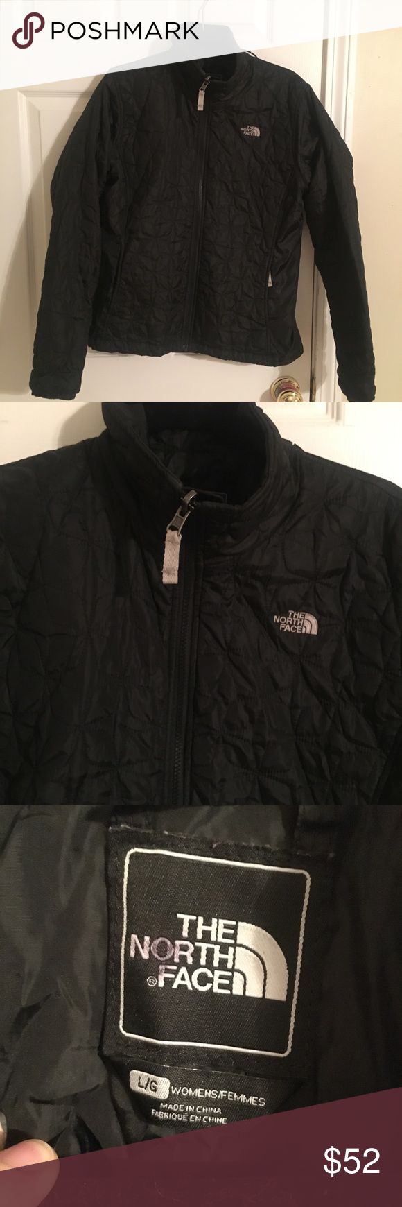 The North Face black puffer coat women's large Black puffer coat from The North Face. Women's size large. Good used condition! Bought this from the outlet for $150 and it doesn't fit me anymore! The North Face Jackets & Coats Puffers