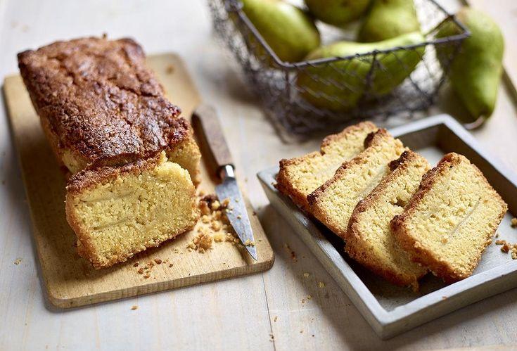 Supersnelle en overheerlijke cake: amandelcake met peren