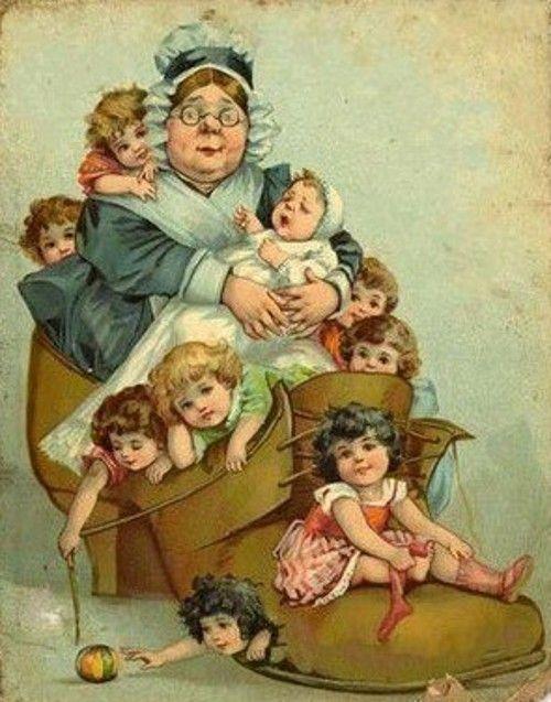 Vintage ansichtkaarten verhaal met de kinderen. Discussie over LiveInternet - Russische Dienst Online Diaries