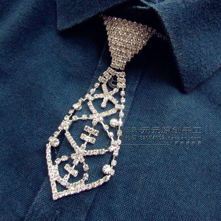 >> Click to Buy << New Free Shipping fashion casual Men's male original British wedding groom Groomsmen Necklace tie collar Korean handmake on sale #Affiliate
