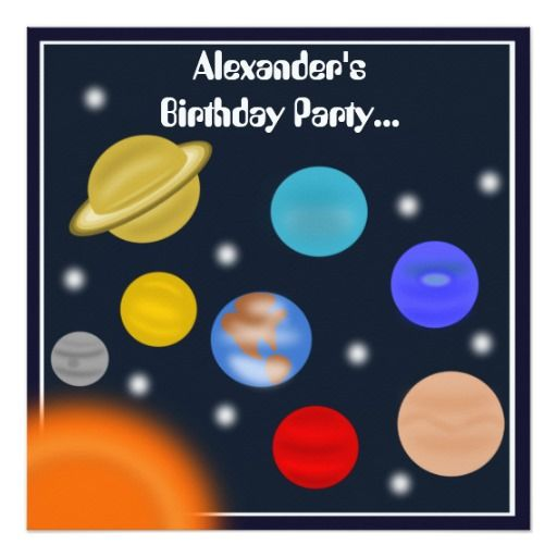 41d934ba38e935005c375c9f8dcc1465 space party solar system 374 best outer space birthday party invitations images on pinterest,Space Birthday Party Invitations