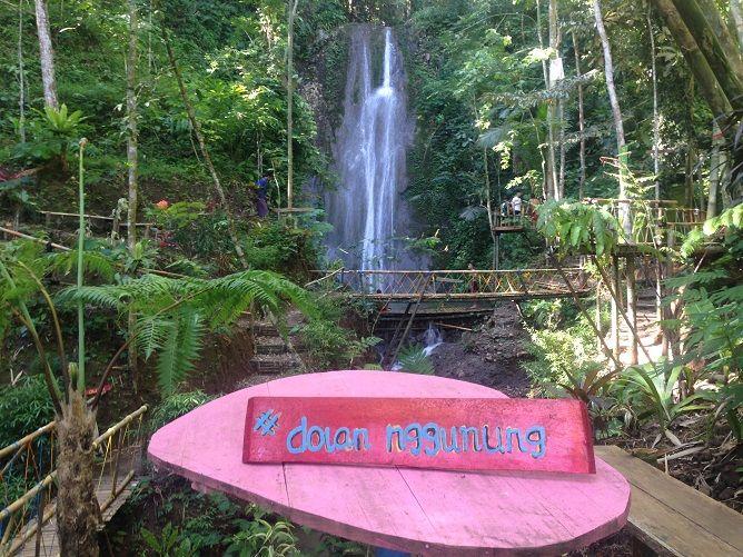 Kerajaan Mataram Dibalik Keindahan Curug Sedhuwagang Kulon Progo