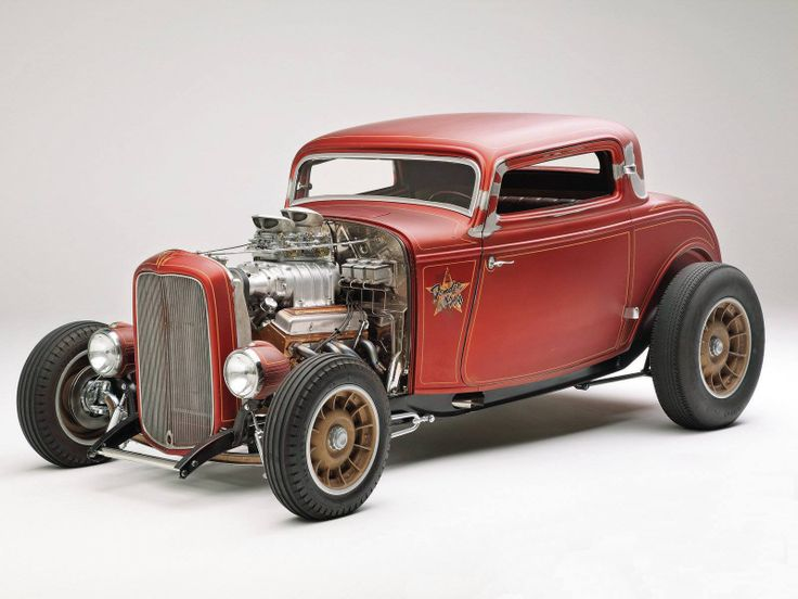 The Fender Less 1932 Ford Three Window Coupe Classics