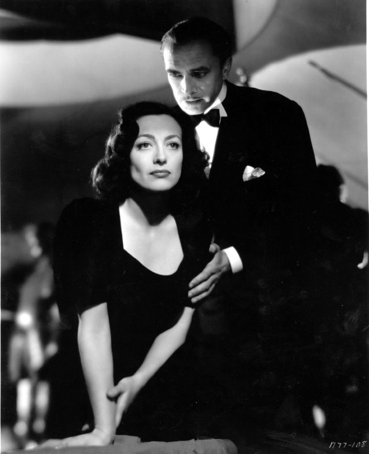 Joan Crawford and Conrad Veidt in A Woman's Face (1941)