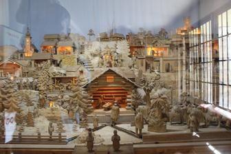 Terchová-drevený betlehem