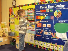 Preschool Wonders: Whole Group Instruction/Calendar Time