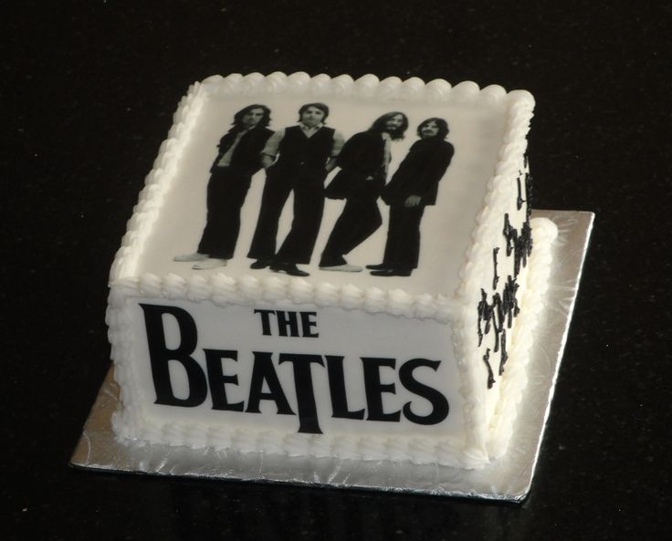 Beatles themed cakes   The Beatles Theme cake