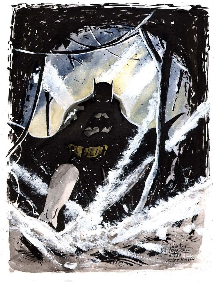 David Enebral Batman Year One by Club-Batman