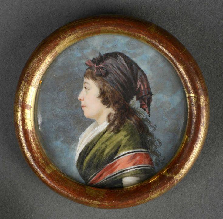 Jacques-Antoine-Marie Lemoine(1751-1824): Portrait of Madame Agathe-born Françoise Lemoine Bonvallet