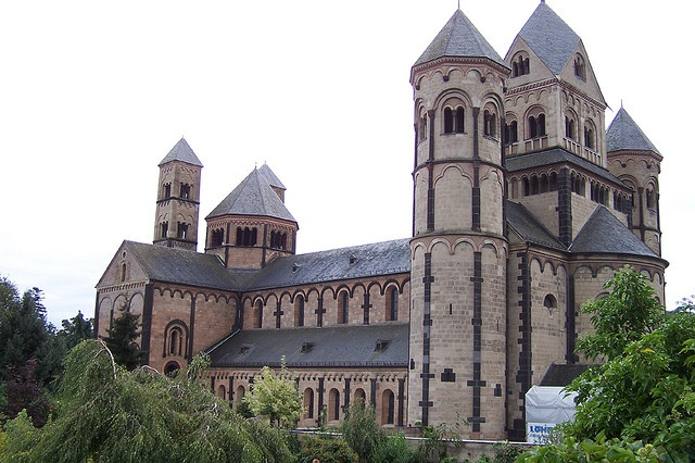 The Abtei Maria Laach (Maria Laach Abbey) near Andernach, Germany
