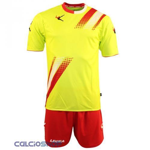 Prezzi e Sconti: #Legea kit salamanca giallo fluo / rosso /  ad Euro 15.90 in #20424 l1203 #Abbigliamento gara completi