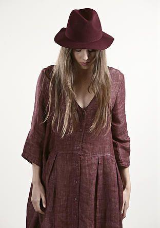 evassunday | monty dress in maroon  $169