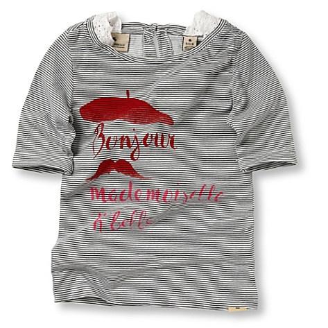 Striped graphic t-shirt / Scotch R'Belle