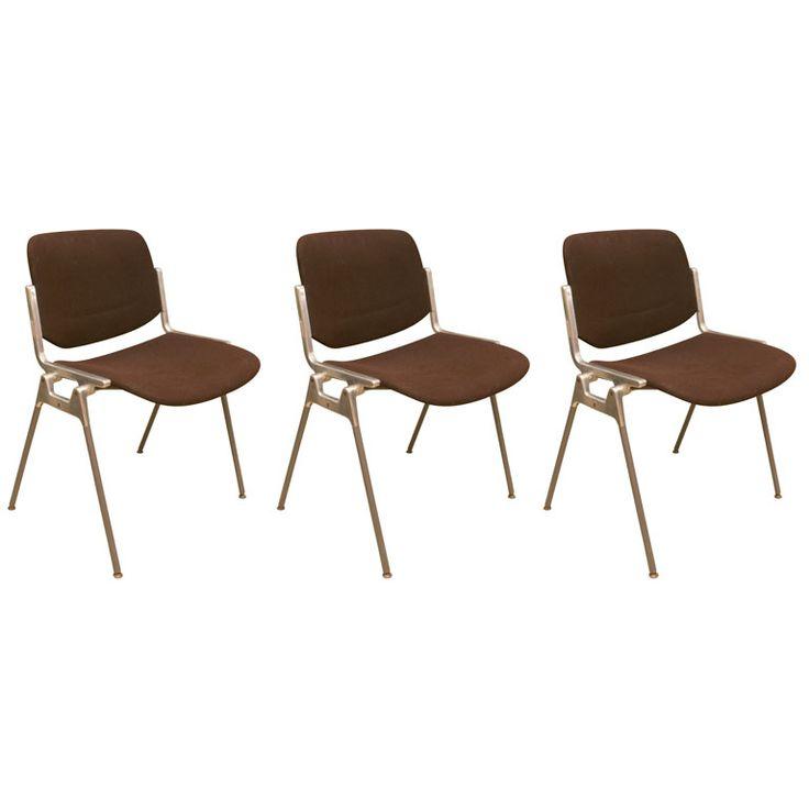 Set of 8 Vintage Castelli Chairs
