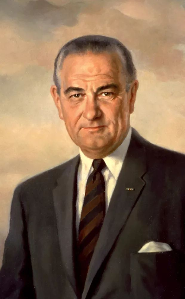 1964Lyndon Johnson defeated Barry Goldwater and was reelected president.