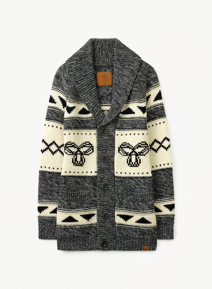 TNA Northwest Sweater, $125 at Aritzia.com. #chunkyknits