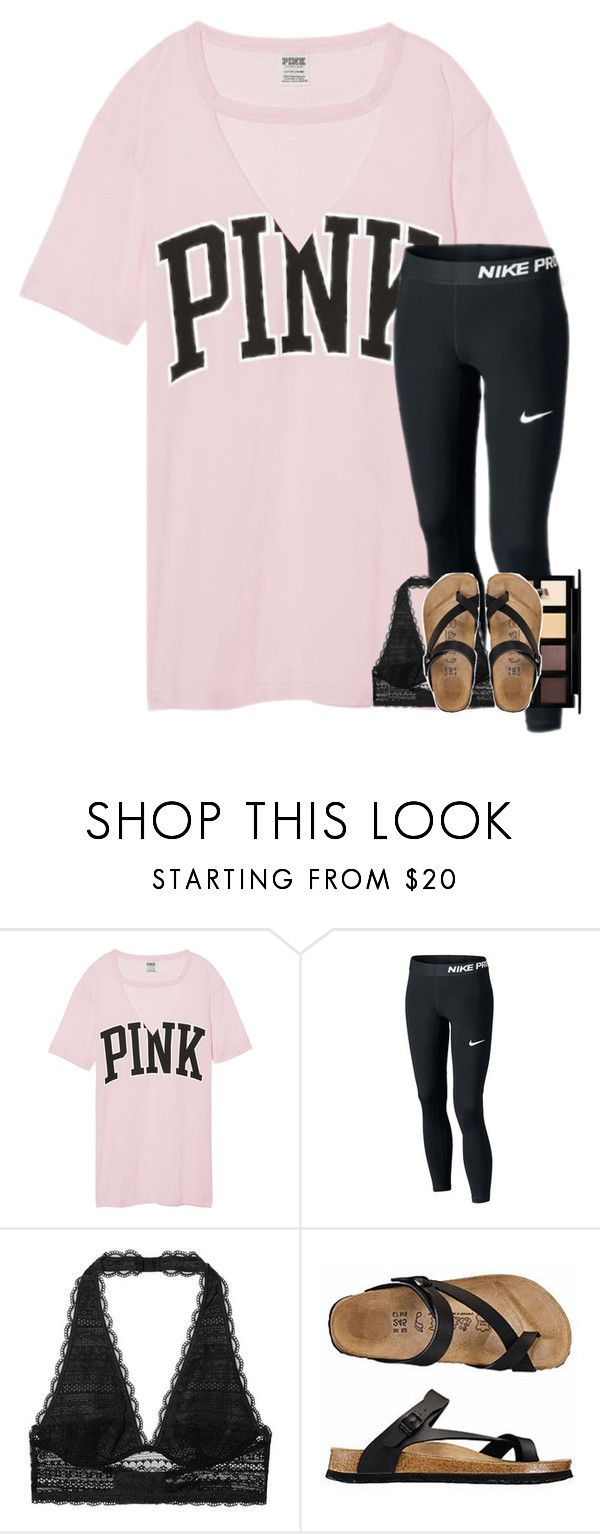 """""""ice cream tag"""" by elizabethannee ❤ liked on Polyvore featuring NIKE, Victoria's Secret and Down to Earth"""