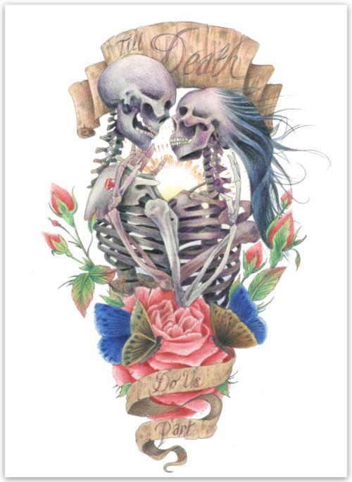 skullspiration:  Original images by James Robinson...