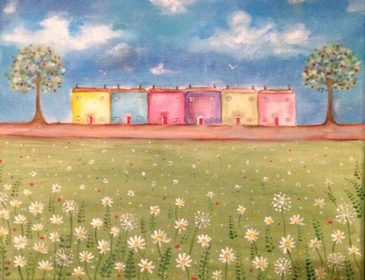 Little houses in daisy street Rachael Dunn