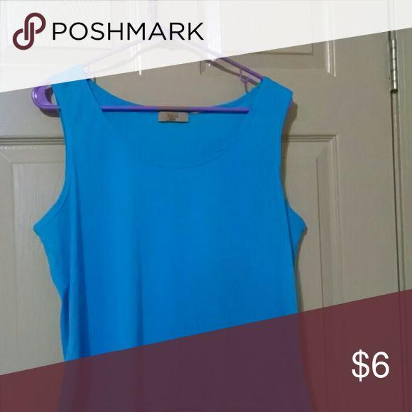 Blue cami Valerie Stevens petite Valerie Stevens Intimates & Sleepwear Chemises & Slips