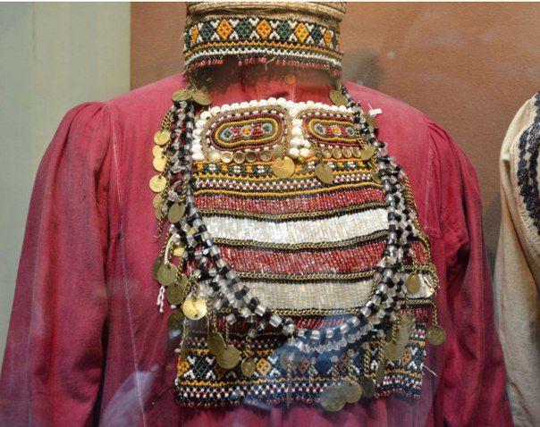 Мордва-мокша конец 19 века Из коллекции Новосибирского государственного краеведческого музея
