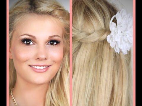 DIY - Haare Aufhellen OHNE Blondierung - YouTube