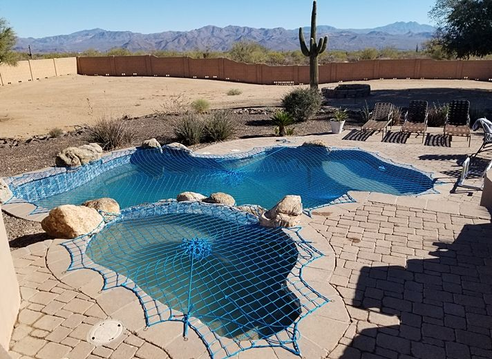 Pets Need To Be Kept Safe Too Dog Pool Safety Katchakid Pool Safety Nets Are Often Used To Protect Animals An Older D Pool Safety Dog Pool Pool Safety Net