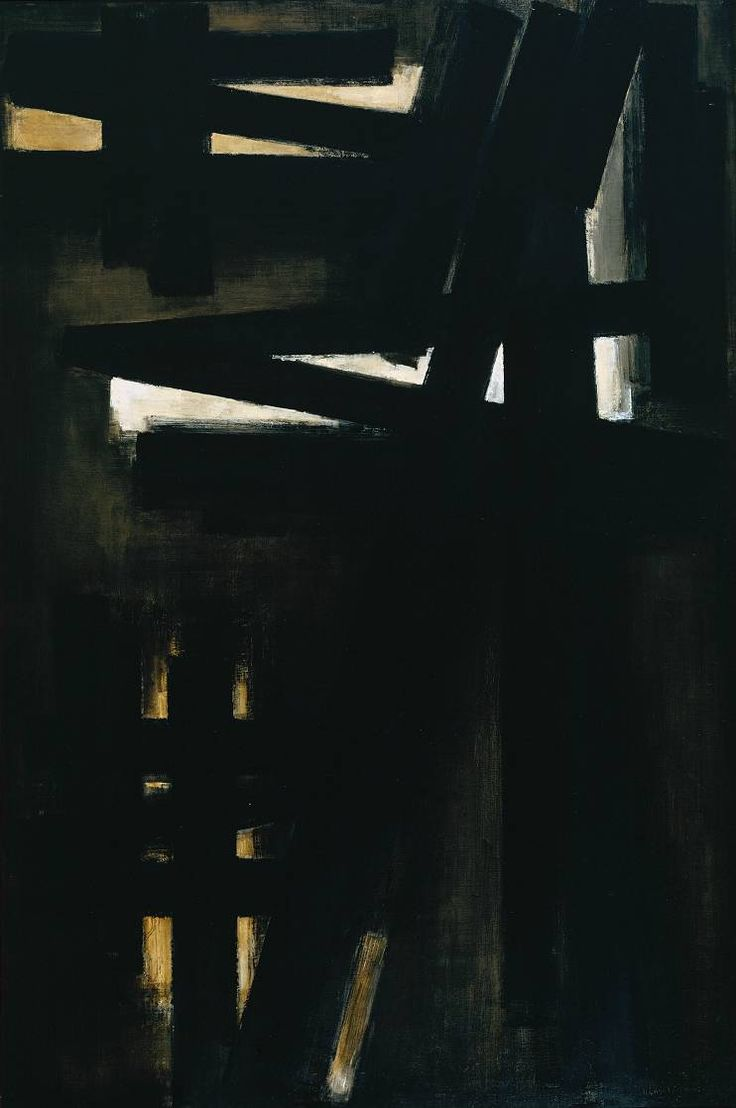 Pierre Soulages - Painting, 23 May 1953