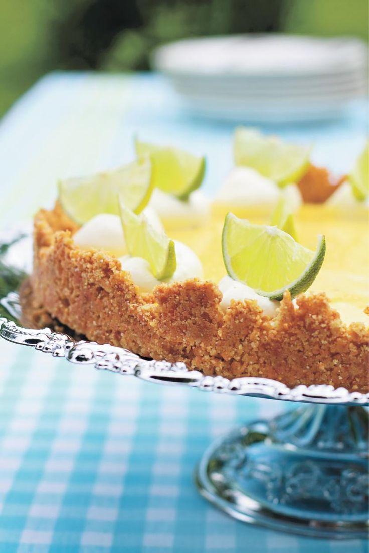 Limettipiiras (Key Lime Pie)