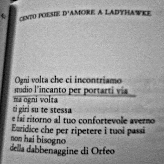 Cento poesie d'amore a Ladyhawke - Michele Mari, Einaudi