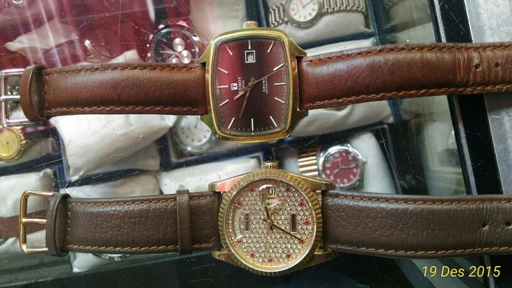 Rolex day date & tissot seven