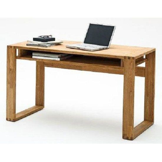 Searching for country house styled #furniture. Buy Jasmin knotty #computerdesk to accommodate all your official supplies and computer in an innovative way.