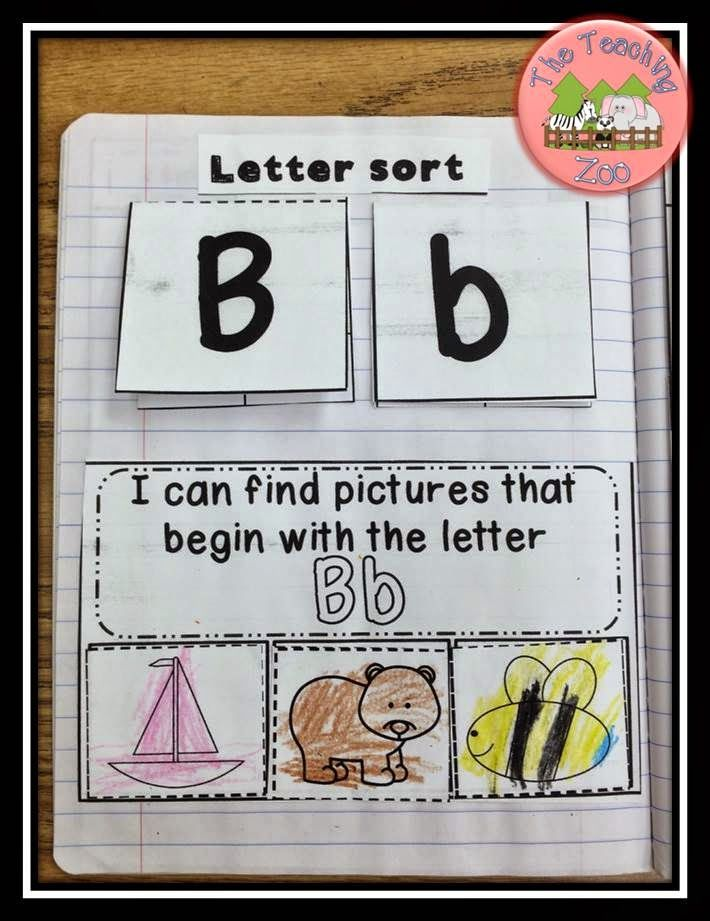ABC Interactive Alphabet Notebook