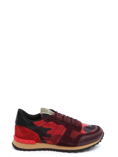 VALENTINO Valentino Garavani Sneakers 'Rockrunner' Camoustars. #valentino #shoes #https: