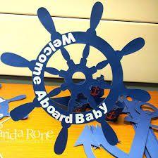 Resultado de imagen para marcos para fotos de baby shower de marineros