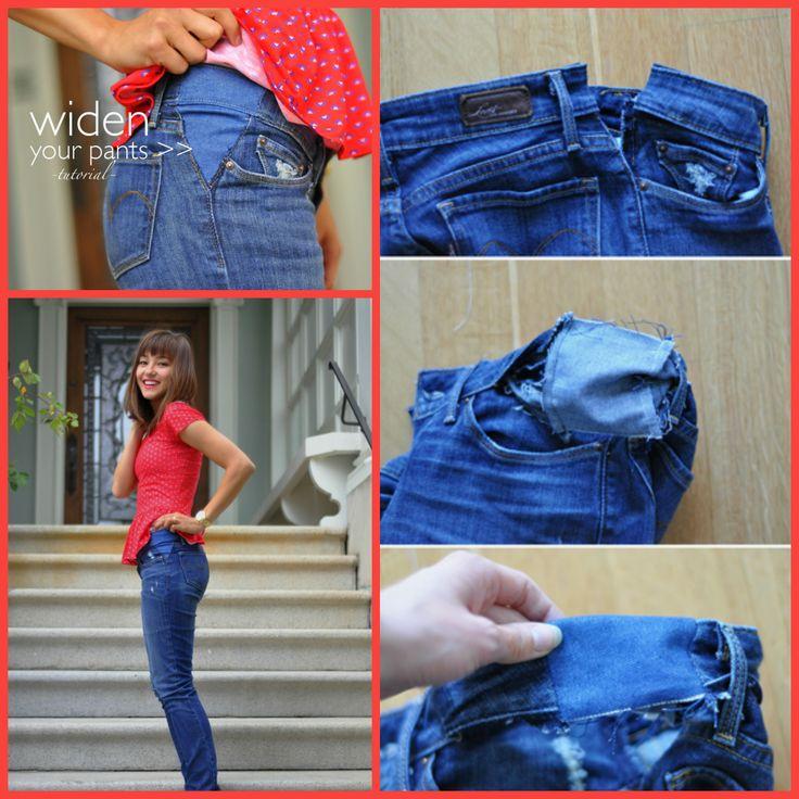 DIY: Pantalones perfectos o como convertir los viejos en perfectos (varios tutoriales)