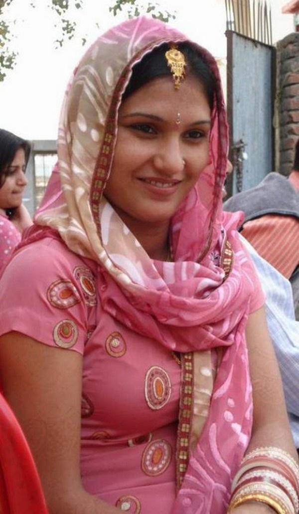 Punjaban Girl In Beautiful Cultural Dress  Muslim Girls -2528
