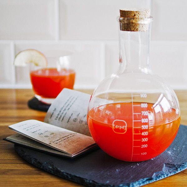 Get experimenting with The Shaken Chemist Cocktail Kit, a novelty cocktail making kit from drpd. A great cocktail gift set for those who love the science of cocktails.