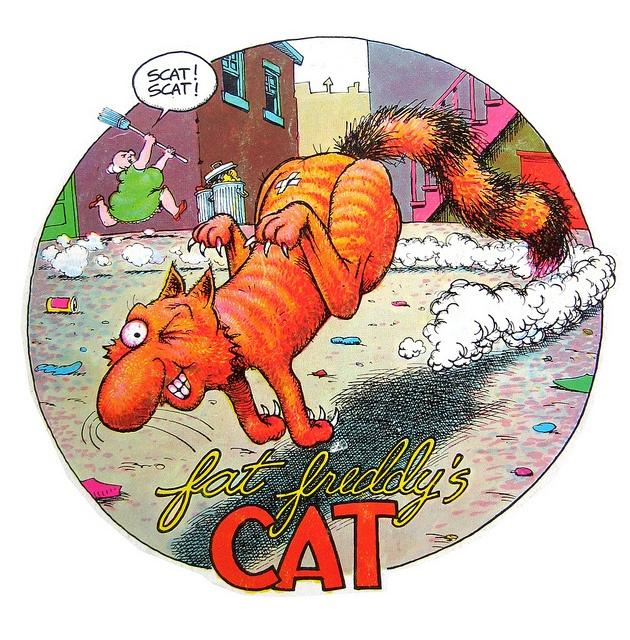 Fat Freddy's Cat by The Moog Image Dump, via Flickr