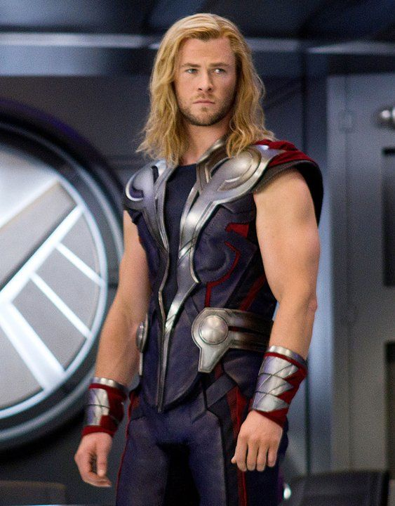 Chris Hemsworth. and you is it lust when you're just admiring God's handi work?