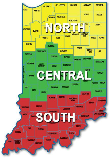 State of Indiana - mapping project http://www.in.gov/dnr ...