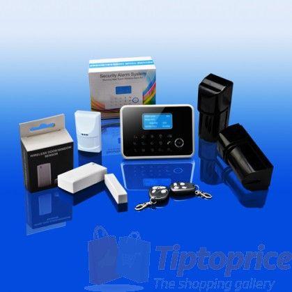 Sistema de alarma de hogar con GSM