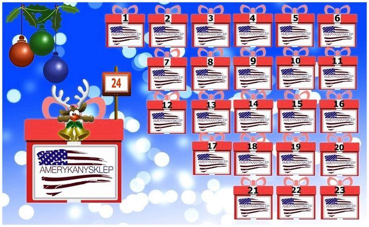 Christmas Calendar AmerykanySklep