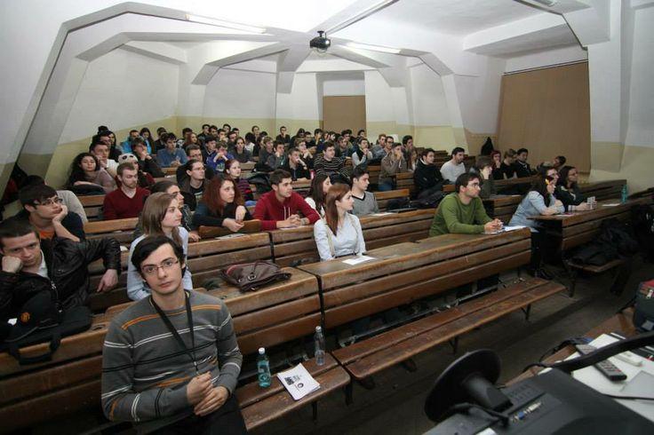 Ubisoft Romania - Prezentare Graduate Program @Universitatea Bucuresti - (You were born to win, but to be a winner, you must plan to win, prepare to win, and expect to win.) — at Facultatea De Matematica Si Informatica.